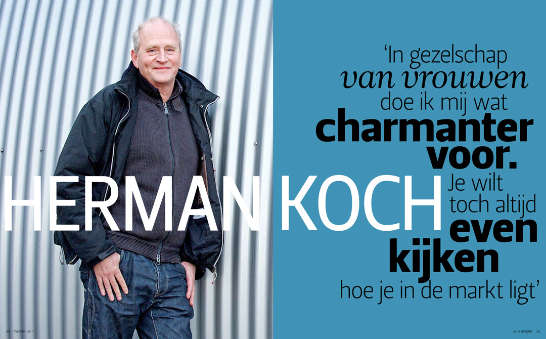 interview met Herman Koch