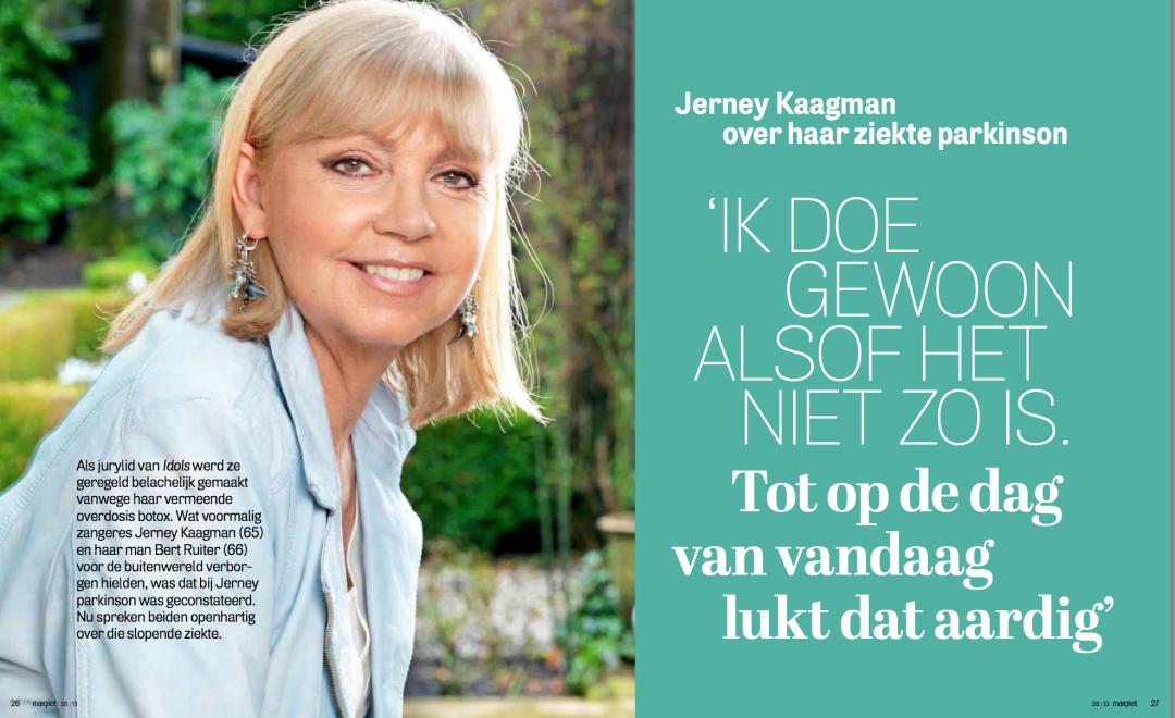 Jerney Kaagman over haar ziekte